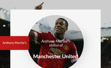 Anthony Martial's at Manchester United