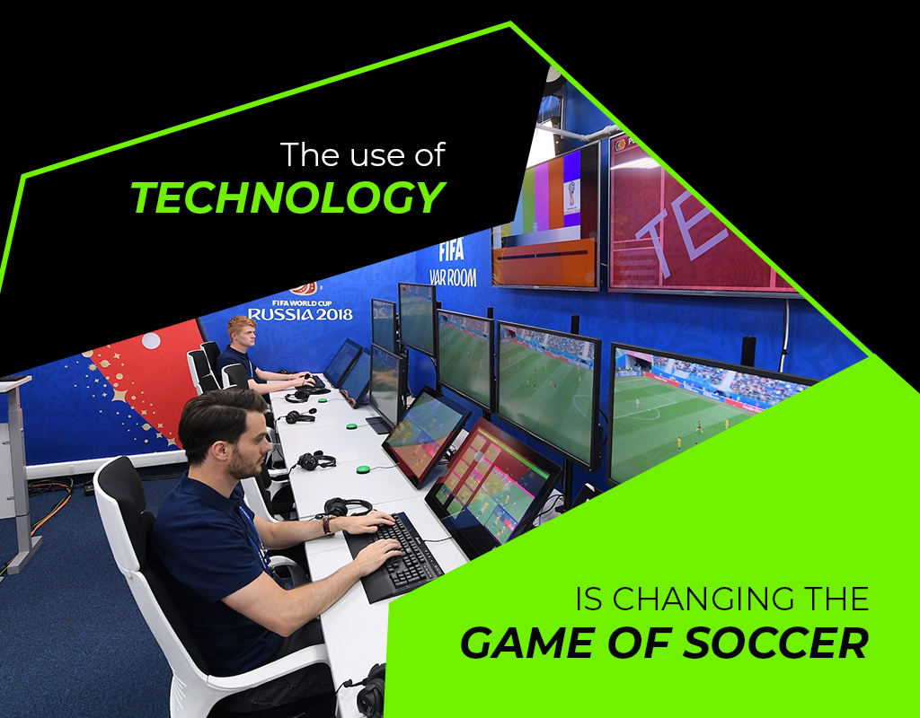 Use of tech in soccer games