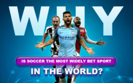 Why is soccer the most widely bet sport in the world?